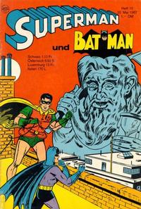 Cover Thumbnail for Superman (Egmont Ehapa, 1966 series) #10/1967