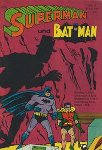Cover Thumbnail for Superman (Egmont Ehapa, 1966 series) #14/1967