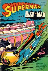Cover Thumbnail for Superman (Egmont Ehapa, 1966 series) #15/1967