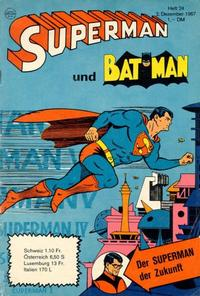 Cover Thumbnail for Superman (Egmont Ehapa, 1966 series) #24/1967