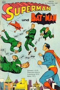 Cover Thumbnail for Superman (Egmont Ehapa, 1966 series) #26/1967