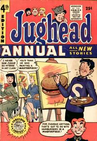 Cover for Archie's Pal Jughead Annual (Archie, 1953 series) #4