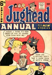 Cover Thumbnail for Archie's Pal Jughead Annual (Archie, 1953 series) #6