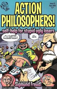 Cover Thumbnail for Action Philosophers (Evil Twin Comics, 2005 series) #1 (3) - Self-Help for Stupid, Ugly Losers