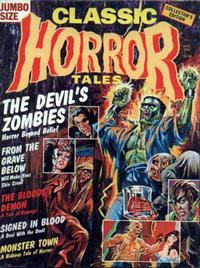 Cover Thumbnail for Horror Tales (Eerie Publications, 1969 series) #v7#3