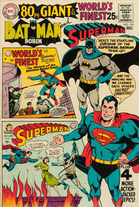 Cover Thumbnail for World's Finest Comics (DC, 1941 series) #179