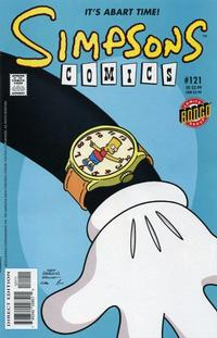 Cover Thumbnail for Simpsons Comics (Bongo, 1993 series) #121