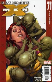Cover Thumbnail for Ultimate X-Men (Marvel, 2001 series) #71