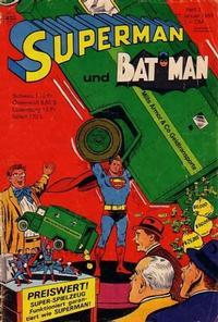 Cover Thumbnail for Superman (Egmont Ehapa, 1966 series) #2/1968