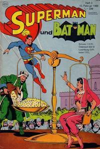 Cover Thumbnail for Superman (Egmont Ehapa, 1966 series) #3/1968