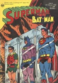 Cover Thumbnail for Superman (Egmont Ehapa, 1966 series) #4/1968