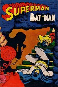 Cover Thumbnail for Superman (Egmont Ehapa, 1966 series) #6/1968