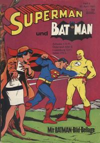 Cover Thumbnail for Superman (Egmont Ehapa, 1966 series) #8/1968