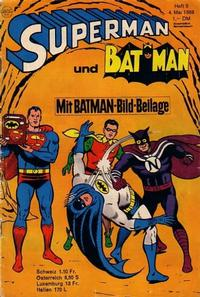 Cover Thumbnail for Superman (Egmont Ehapa, 1966 series) #9/1968