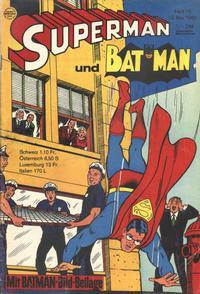 Cover Thumbnail for Superman (Egmont Ehapa, 1966 series) #10/1968