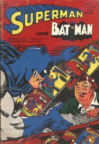 Cover Thumbnail for Superman (Egmont Ehapa, 1966 series) #11/1968