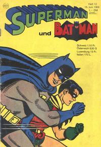 Cover Thumbnail for Superman (Egmont Ehapa, 1966 series) #12/1968