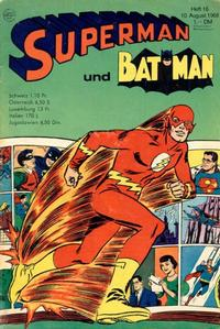 Cover Thumbnail for Superman (Egmont Ehapa, 1966 series) #16/1968