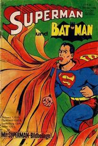 Cover Thumbnail for Superman (Egmont Ehapa, 1966 series) #21/1968