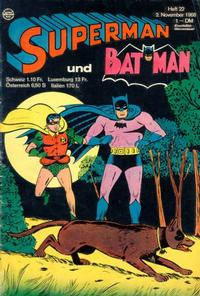 Cover Thumbnail for Superman (Egmont Ehapa, 1966 series) #22/1968