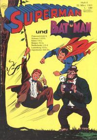 Cover Thumbnail for Superman (Egmont Ehapa, 1966 series) #6/1969
