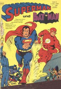 Cover Thumbnail for Superman (Egmont Ehapa, 1966 series) #9/1969