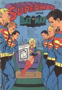 Cover Thumbnail for Superman (Egmont Ehapa, 1966 series) #11/1969