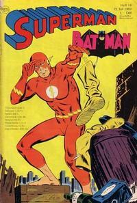 Cover Thumbnail for Superman (Egmont Ehapa, 1966 series) #14/1969