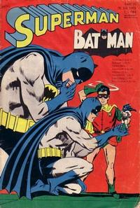 Cover Thumbnail for Superman (Egmont Ehapa, 1966 series) #15/1969