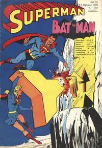 Cover Thumbnail for Superman (Egmont Ehapa, 1966 series) #20/1969