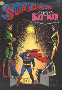 Cover Thumbnail for Superman (Egmont Ehapa, 1966 series) #25/1969