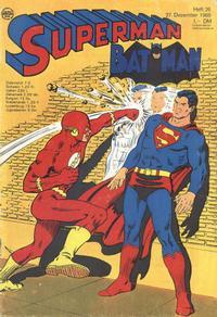 Cover Thumbnail for Superman (Egmont Ehapa, 1966 series) #26/1969
