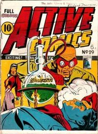 Cover Thumbnail for Active Comics (Bell Features, 1942 series) #29