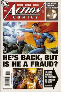 Cover Thumbnail for Action Comics (DC, 1938 series) #841