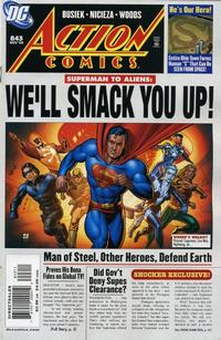 Cover Thumbnail for Action Comics (DC, 1938 series) #843 [Direct Sales]