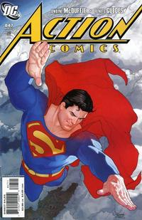 Cover Thumbnail for Action Comics (DC, 1938 series) #847