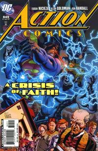 Cover Thumbnail for Action Comics (DC, 1938 series) #849