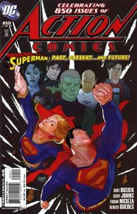 Cover Thumbnail for Action Comics (DC, 1938 series) #850 [Direct Sales]