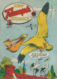 Cover Thumbnail for Triumph Comics (Bell Features, 1942 series) #32 (27)