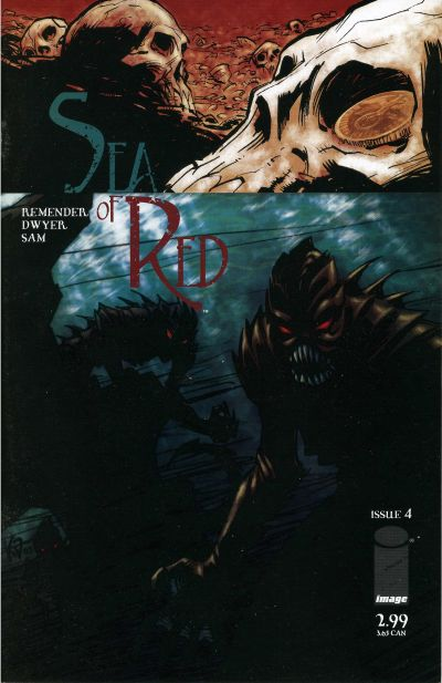 Cover for Sea of Red (Image, 2005 series) #4