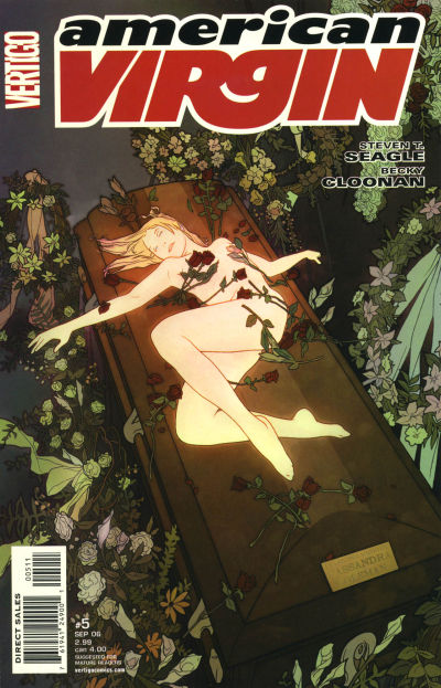 Cover for American Virgin (DC, 2006 series) #5