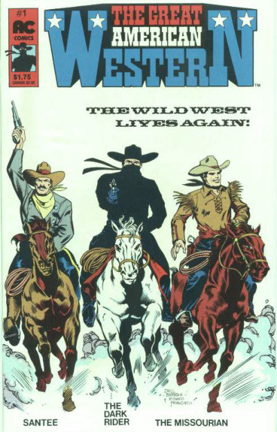Cover for Great American Western (AC, 1987 series) #1