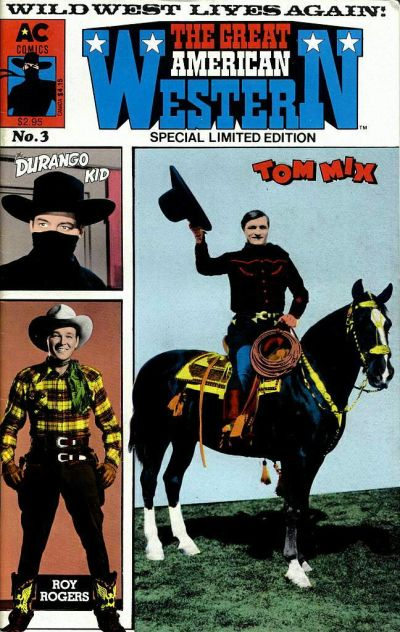 Cover for Great American Western (AC, 1987 series) #3