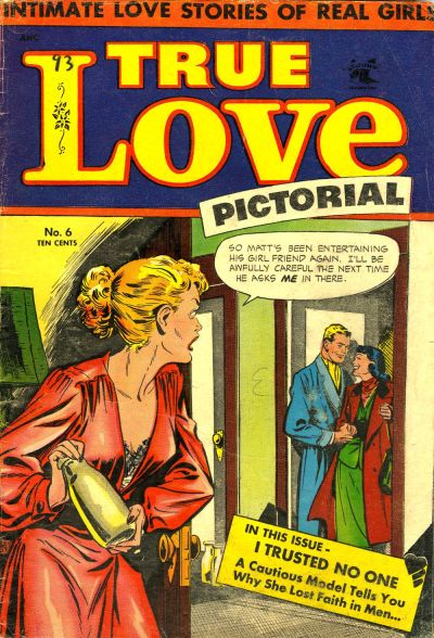 Cover for True Love Pictorial (St. John, 1952 series) #6