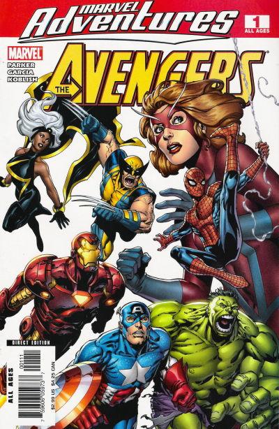 Cover for Marvel Adventures The Avengers (Marvel, 2006 series) #1