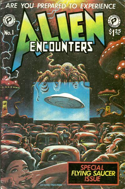Cover for Alien Encounters (FantaCo Enterprises, 1981 series) #1