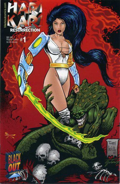 Cover for Hari Kari Resurrection (Blackout Comics, 1997 series) #1