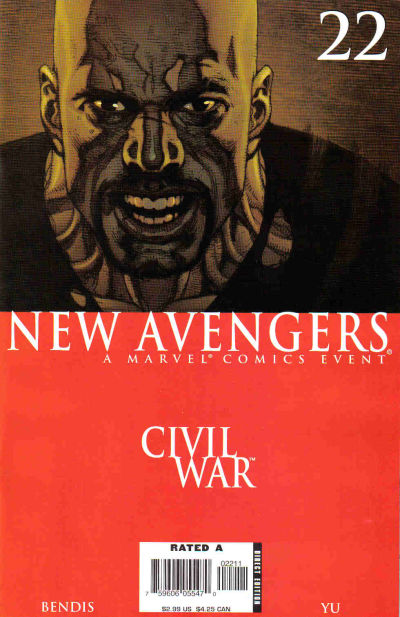 Cover for New Avengers (Marvel, 2005 series) #22 [Direct Edition]