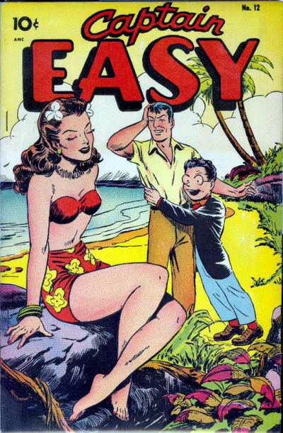Cover for Captain Easy (Pines, 1947 series) #12