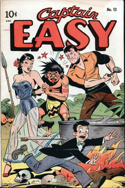 Cover for Captain Easy (Pines, 1947 series) #13